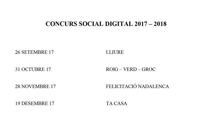Relació temes Concurs Social 2017/2018
