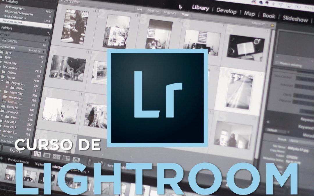 Curso de iniciación a Adobe Lightroom – 2020
