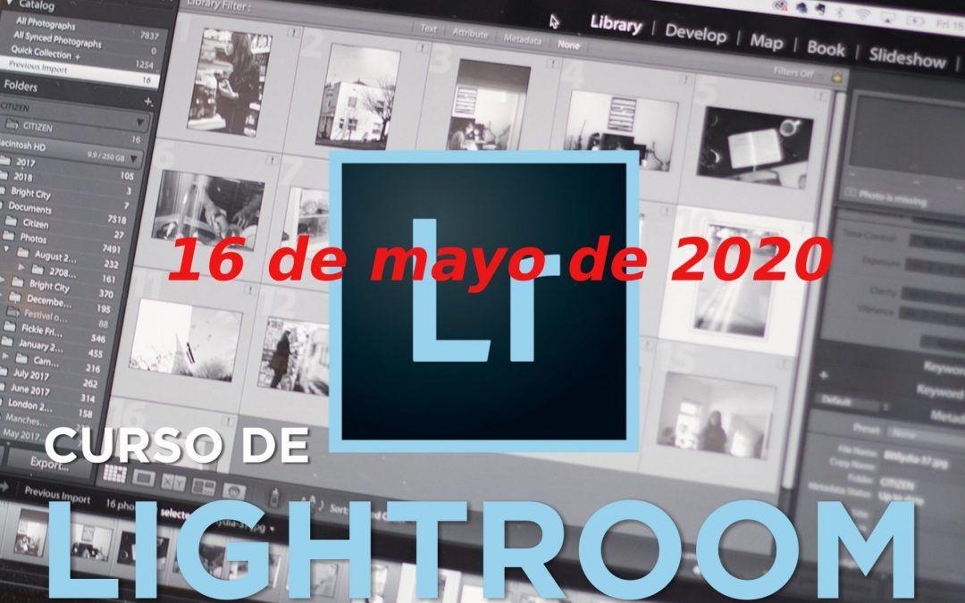 CAMBIO DE FECHA — Curso Adobe Lightroom – 2020