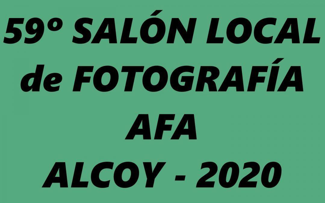 Fallo 59º Salón Local 2020