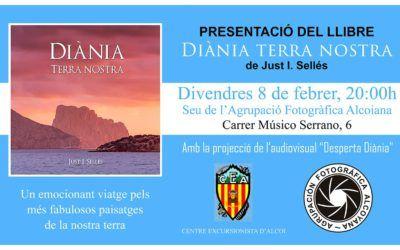 """Presentació del Llibre """"Diània, Terra nostra"""""""