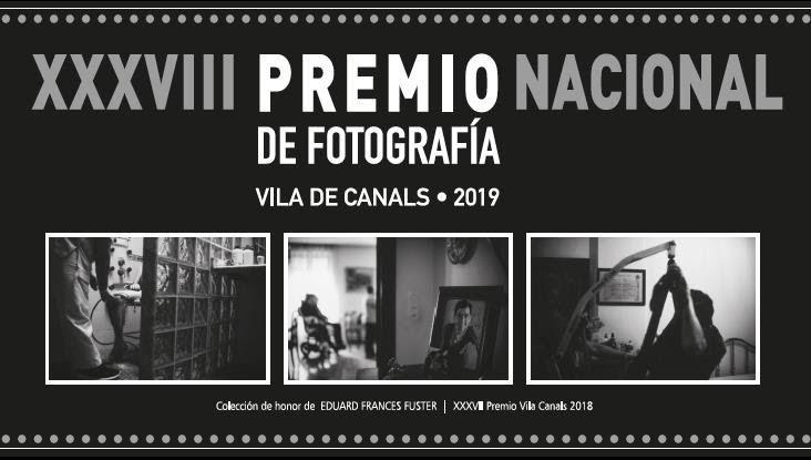 """XXXVIII Premio Nacional de Fotografía """"Vila de Canals"""" 2019"""