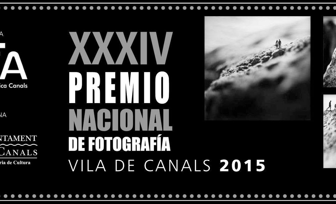"""XXXIV PREMI NACIONAL FOTOGRAFIA """"Vila de Canals"""" 2015"""